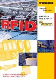 Modular RFID System BLident - Multiprox