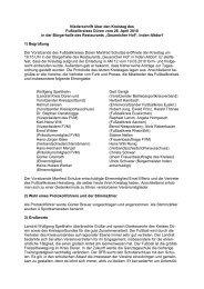 das Protokoll des Kreistages 2010 - Fußball-Verband Mittelrhein e.V.