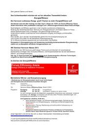 EnergieEffizienz - Geese Beratende Ingenieure