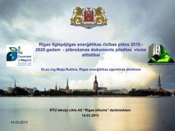 šeit - Rīgas enerģētikas aģentūra