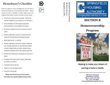 section 8 housing application pdf