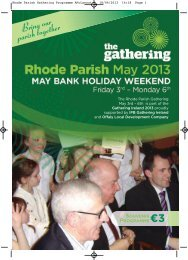 Rhode Parish Gathering Brochure - Offaly County Council