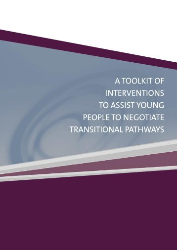A toolkit of interventions to assist young people - National Drug ...
