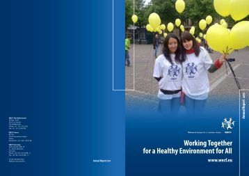 Annual Report WECF 2011