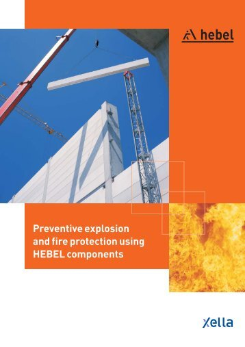 Preventive explosion and fire protection using HEBEL ... - Xella UK