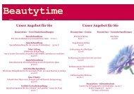 Beautytime Beautytime - Klaus-Groth-Apotheke