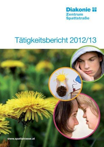 Tätigkeitsbericht 2012/2013 - Zentrum Spattstrasse