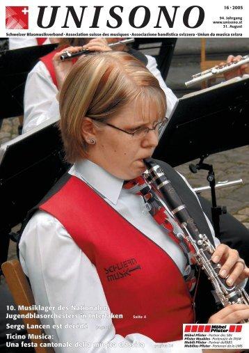 unisono - Schweizer Blasmusikverband