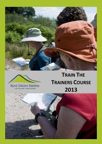 Train The Trainers Course 2013 - Mountaineering Ireland