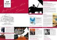 Klavierhaus Helmich Hauszeitung Ausgabe 01