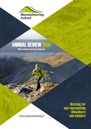 Annual Review 2010 - Mountaineering Ireland