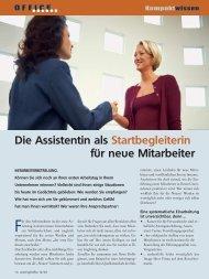 Artikel im PDF Format - TOP Training für Office Management und ...