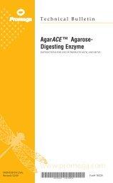 AgarACE™ Agarose-Digesting Enzyme