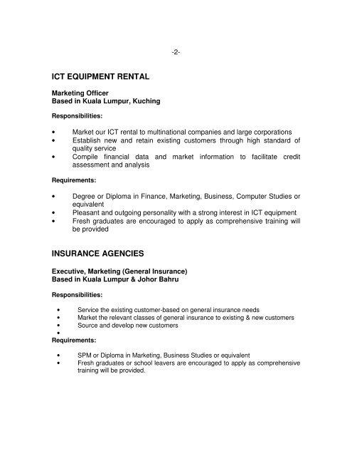 2- ICT EQUIPMENT RENTAL
