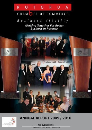 ANNUAL REPORT 2009 / 2010 - Rotorua Chamber of Commerce