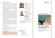 Wichtig zu wissen Manuelle Lymphdrainage und komplexe ...
