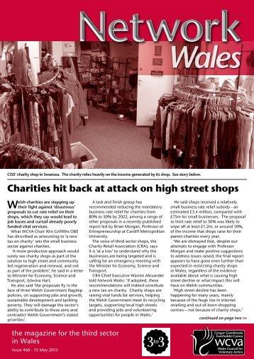 Network Wales 466, 15 May 2013 - WCVA