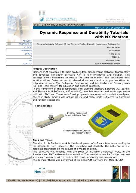 Nx cae tutorial pdf