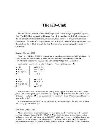 The KD-Club - Bridge Guys