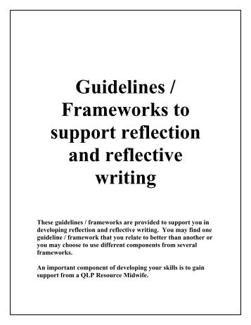 patient structured reflection essay Reflection has become an important the benefits of a structured reflective reflection has become an important concept in nursing nursing essay.