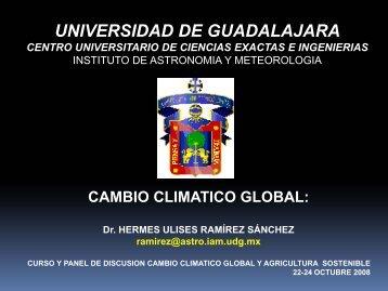 Primer curso cambio climatico - Centro Universitario de Ciencias ...