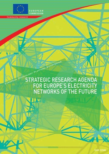 strategic research agenda for europe's electricity networks ... - Europa