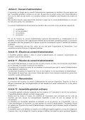 Statuts - Association pour la Formation en Ophtalmologie Vétérinaire - Page 2