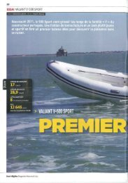 Valiant V-500 Sport-Premier bateau - Brunswick Marine