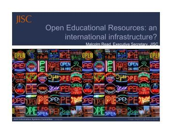 Open Educational Resources - IMS Global Learning Consortium