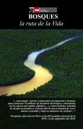 Título: Bosques la ruta de la vida - CDAM - Ministerio del Ambiente