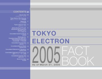 Tokyo Electron Limited (TEL)