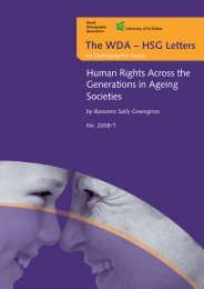The WDA – HSG Letters - Monitoring RIS website