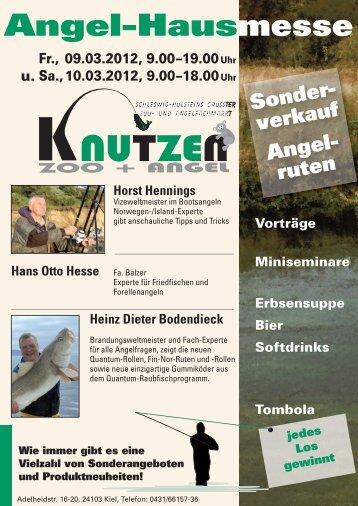 Angel-Hausmesse - Angel Knutzen