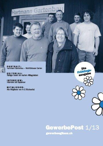 GewerbePost als PDF-Datei anschauen - Gewerbeverein Eglisau