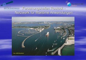SEA GATE - Netzwerk für maritime Anwendungen