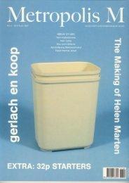 gerlach en koop by Laura van Grinsven in MetropolisM