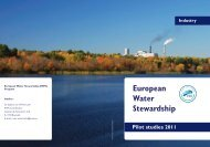 industry with bleeds.indd - European Water Partnership