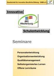 Gesellschaft für innovative Berufliche Bildung - Berufsbildende ...