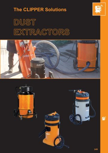 Dust Extractors - Norton Construction Products