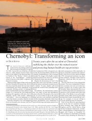 Chernobyl: Transforming an icon