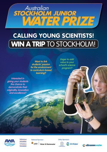 WIN A TRIP to Stockholm! - Australian Water Association