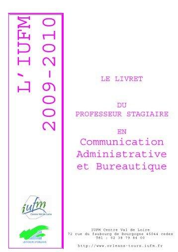 livret disciplinaire CAB site - IUFM