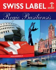 swiss label what is swiss label? - Com Consulting SA