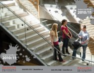 The 2010 / 2011 Student Handbook... resources, tips, and more!