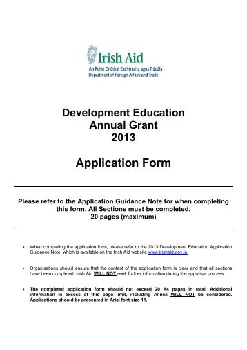 Passport Application Forms Are Available From The Following Irish