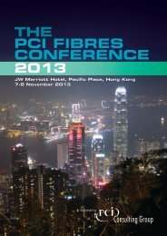 THE PCI FIBRES CONFERENCE 2013 JW Marriott ... - FiberSource