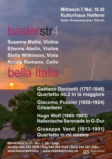 baslerstr4 bella Italia