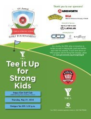 Tee it Up for Strong Kids - YMCA of Greater Toronto