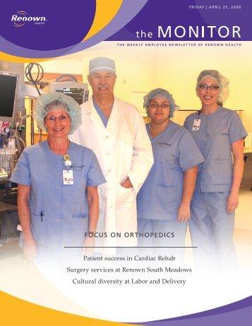 Focus on oRthoPeDIcs - Renown Health