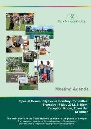 Meeting Agenda - Fylde Borough Council
